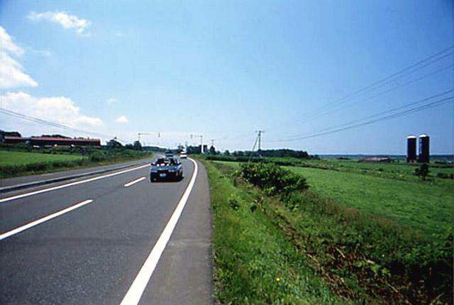 国道232号/遠別町/北里付近