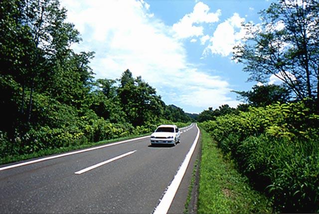 国道451号/浜益村/泥川付近