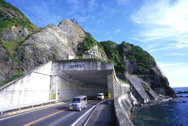 国道336号/様似町/冬島付近